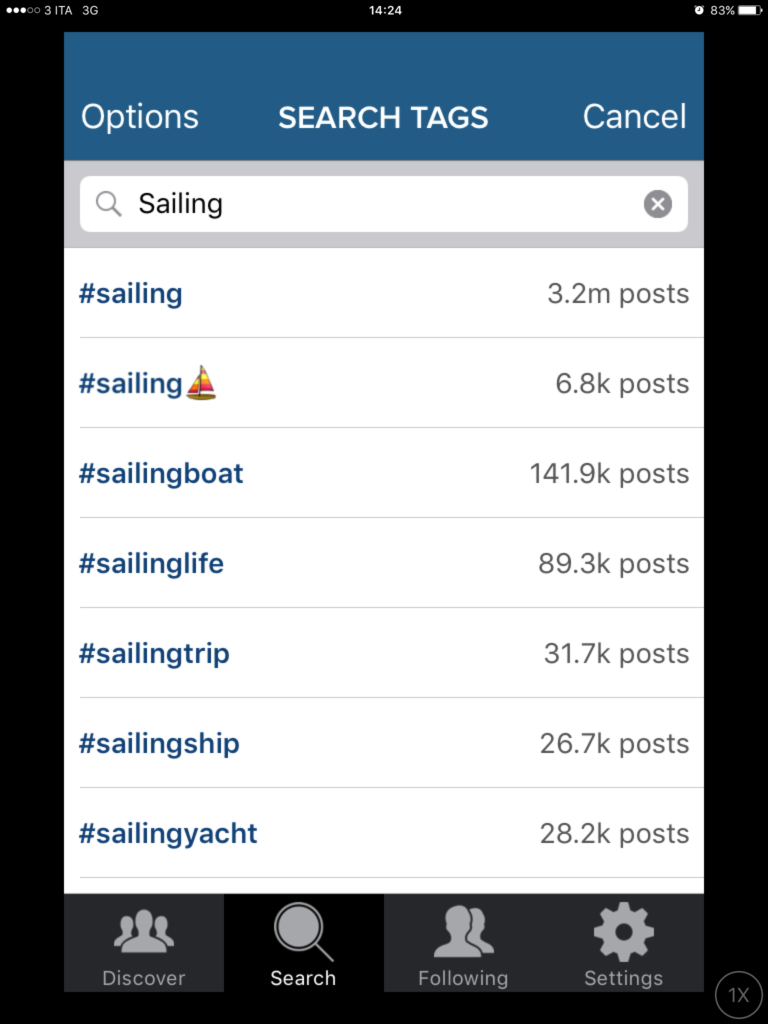 Aumentare followers e like su Instagram con Captivate